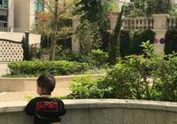 胡杏兒晒1歲半兒子背影照,千萬豪宅卻意外曝光