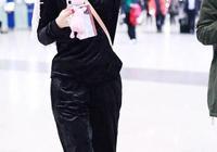 吳昕用機場秀告訴我們:金絲絨穿對了可以瘦十斤!效果難以置信