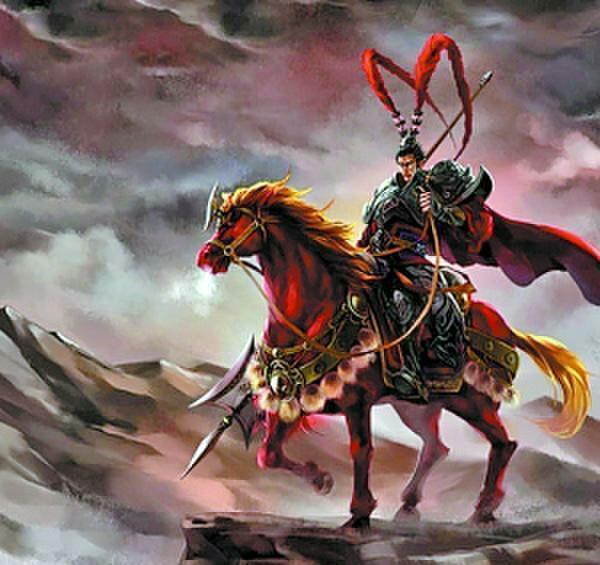 人中呂布,馬中赤兔,得貂蟬而失江山,命中註定英雄氣短