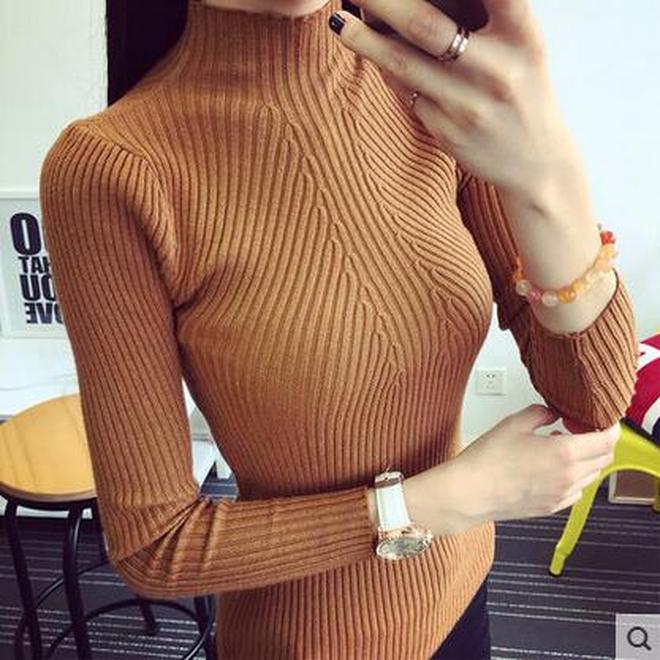 別再雪紡衫蕾絲衫打底衫了!不到一百元的羊毛衫,真正時髦又實穿