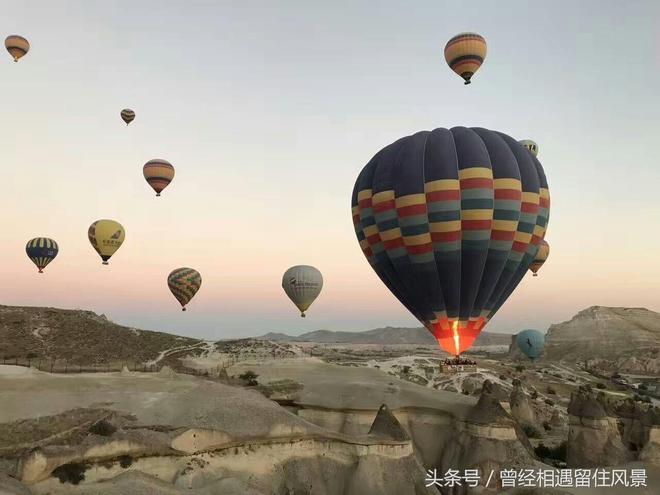 土耳其——讓熱氣球飛,土耳其——讓我們與熱氣球一起飛