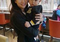 袁詠儀懷抱胡杏兒孩子合影 寶寶大眼十分可愛