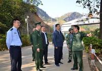 孟連警方:張堯貴同志深入孟連調研邊境維穩工作