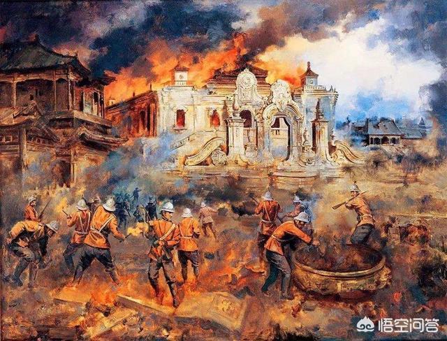 清政府做了什麼事,使英法聯軍險燒故宮,而選擇燒了圓明園?