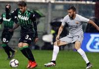 小克魯伊維特中柱法齊奧進球被吹,羅馬客場0-0薩索洛