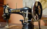 老式古董縫紉機 懷舊經典 你家還有嗎?