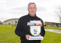 官方:保羅-蘭伯特當選英冠三月份最佳教練