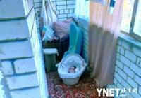 沒人性!俄年輕母親將3個月大女兒鎖在陽臺受凍 只因她哭鬧不停