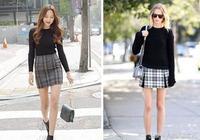 這個秋冬新搭配——毛衣搭配半身裙 MM優雅瞬間將路人秒成渣!