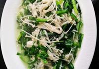 韭菜金針菇