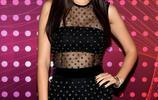 女星維多利亞·嘉絲蒂現身好萊塢時尚站,她的柔美讓人心動