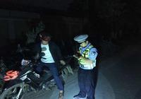 勐臘交警大隊開展摩托車專項整治工作
