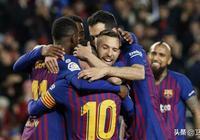 巴塞羅那:沒有獎盃照樣慶祝