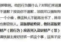 郭敬明抄襲程度嚴重到什麼程度,王朔曾直指郭敬明是小偷!