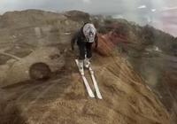 這個滑雪板有毒 滑電梯滑樓梯滑草滑沙很是上癮