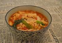 茄汁雞蛋刀削麵
