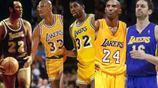NBA湖人隊史最強首發陣容,分衛科比,控衛魔術師,奧尼爾落選