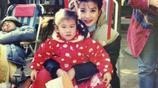 拍攝還珠格格時蘇有朋和趙薇一直抱著她 你們知道這個小女孩是誰