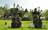 香昆寺之旅,到處都是佛教和印度教的雕塑