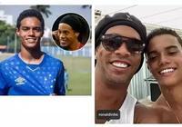 巴西足球巨星小羅之子長得與老爹一模一樣,神助攻幫球隊連贏兩場!