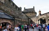 旅遊圖集 愛丁堡城堡氣勢巍峨風景很不錯在此俯瞰愛丁堡城市很美