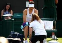 莎拉波娃因傷退賽怎麼回事 莎拉波娃被帕門蒂爾大逆轉