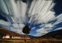 四川川西高原最美12照片絢麗天空