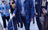 許魏洲架茶色眼鏡赴巴黎時裝週,眾多迷妹擠爆機場一路跟拍