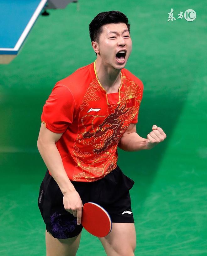 乒乓球冠軍馬龍