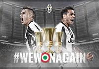 意大利杯三連冠!尤文圖斯創造意大利新紀錄