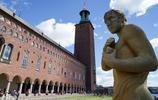 瑞典斯德哥爾摩美麗的市政廳