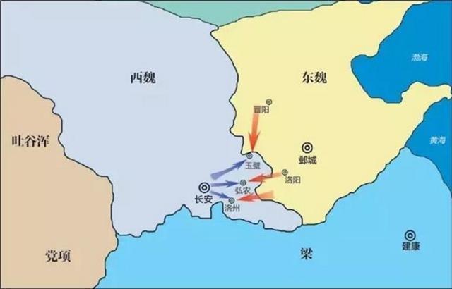 南北朝王思政:西魏軍界第一人