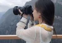 背影最美攝影師出現,當她轉身時,網友:風景再美也不如你