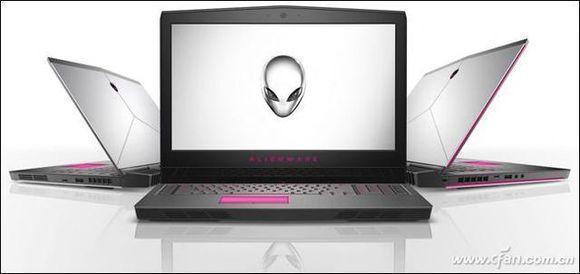 搭載GTX 1070的筆記本電腦ALIENWARE 17