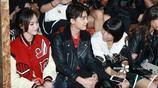 李易峰和唐嫣紐約時裝週大秀,抓拍下依然高顏值