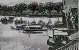 老照片,慈禧西逃後的頤和園,一片荒蕪成為八國聯軍的遊樂園