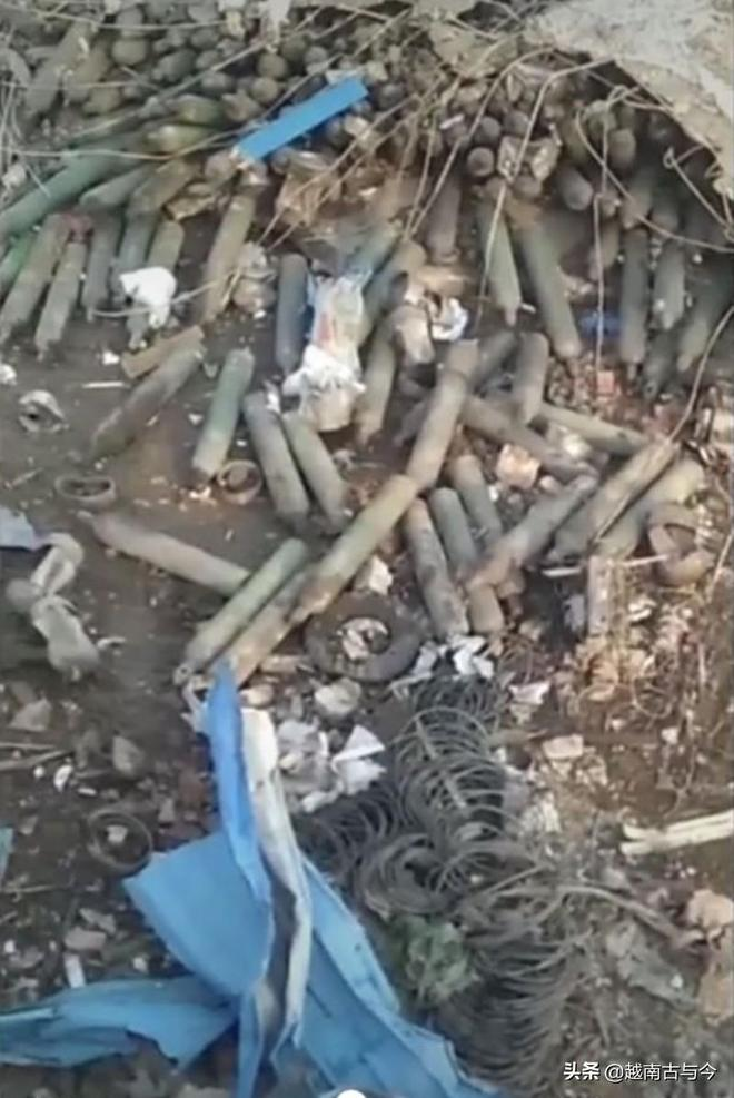 緬甸佤邦爆炸事故現場照片曝光:遍地易燃氧氣瓶,軍警正排除危險