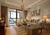 116平米現代簡約三居,柔和平靜的格調給人一種久違的溫暖舒適感
