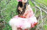美少女山野草叢寫真!