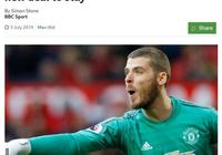 德赫亞續約曼聯在即,週薪35萬門將第一!索帥堅信他仍可重返巔峰