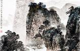 ]楊昌林畫家《高山層層 鬆翠滿山》