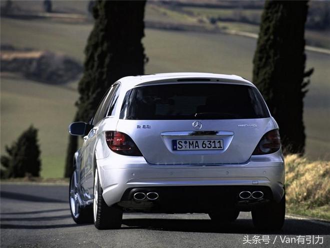 全球最速MPV是誰?如果不算改裝車,那必須是奔馳R 63 AMG呀!