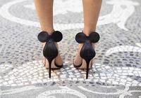 可愛的迪士尼米老鼠鞋,米妮高跟鞋