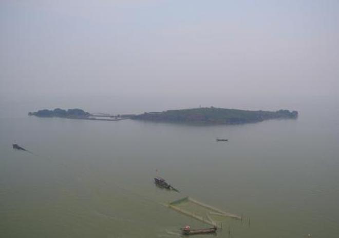 高空實拍太湖高踏網捕:一網能有六七萬斤