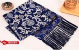 中國風刺繡真絲圍巾,保暖又時尚,老外也喜歡!