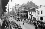 一組老照片穿越回清朝末年的上海,100年前已是如此繁榮