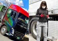 開卡車的女司機顏值一個比一個高 網友都說原來女神都在這兒