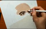 """3D手繪""""卓別林""""的扮演者-小羅伯特·唐尼 朝畫:手繪系列十六"""