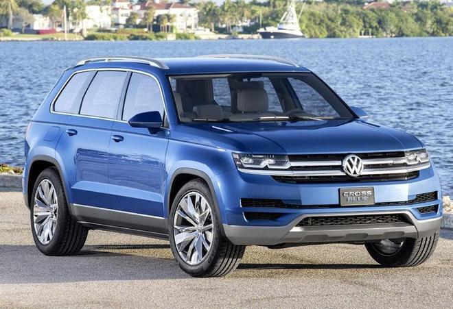 漢蘭達再逢敵手,大眾推出全新中型SUV,定位高於途觀L低於途昂