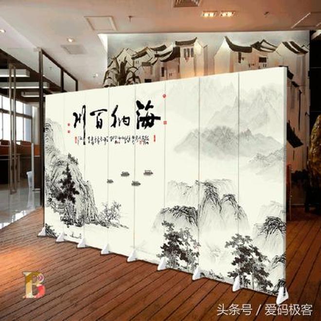 中式客廳裝修風格的業主們看過來,這些客廳實木屏風瞬間提升檔次